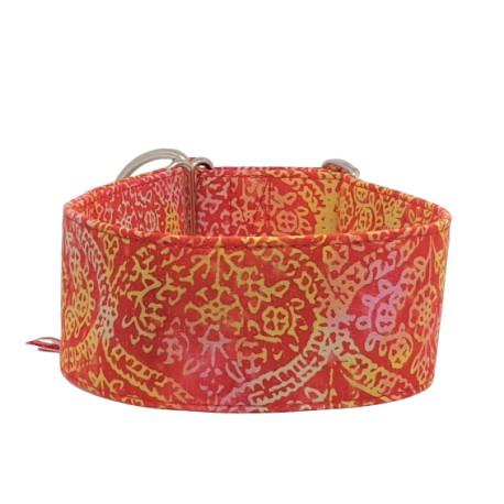 Zugstopp Halsband Windhundhalsband Goa Red