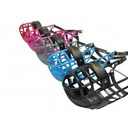 Windhundmaulkorb chic & scharf, Plastik, 5 Farben lieferbar