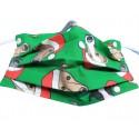 Behelfsmaske Christmas Greyhound, Gr. L (Erwachsene)