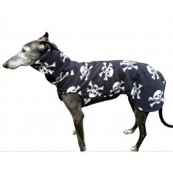 Sofort lieferbar - Windhund Pullover Polarfleece Jolly Roger, ein Klettverschluss, Gr. S