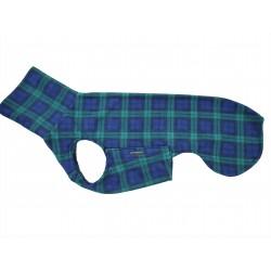Sofort lieferbar -Windhund Pullover Polarfleece Blackwatch Check, ein Klettverschluss, Gr. L