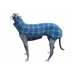 Windhund Pullover Polarfleece Blackwatch Check, ein Klettverschluss, 5 Größen