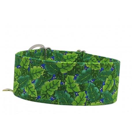 Zugstopp Halsband Windhundhalsband Dschungel, 3 Breiten lieferbar