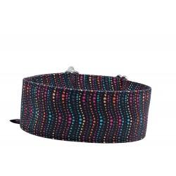 Zugstopp Halsband Windhundhalsband Colorful Waves, 3 Breiten lieferbar