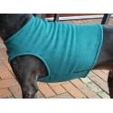 Windhund Fleeceweste in petrol, 5 Größen lieferbar