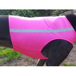 Warnweste Hunde pink