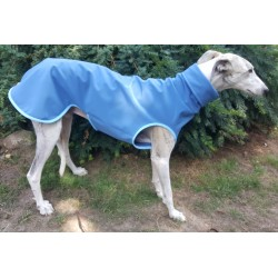 Softshell-Pulli, jeansblau, mit Klettverschluss, Pulli-RL 77 cm