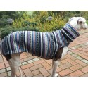 Windhund Pullover aus Strickfleece